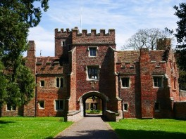 buckden-the-inner-gatehouse-with-bridge-over-moat-ditch-and-arms-of-bishop-john-russell-c2a9-tudor-times-ltd